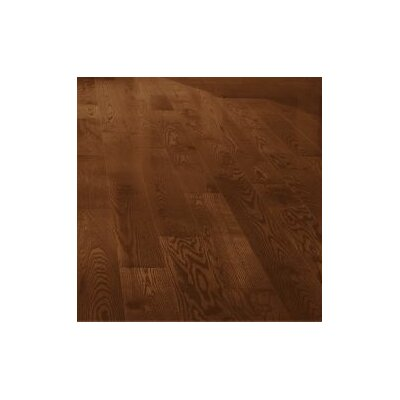"Forest Valley Flooring 5"" Solid Red Oak Hardwood Flooring in Saddle"