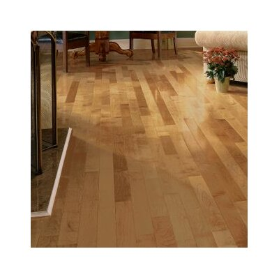 "Forest Valley Flooring 3-1/4"" Solid Maple Hardwood Flooring in Toasted Almond"