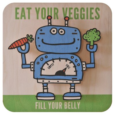 Veggiebot 3D Wall Decor