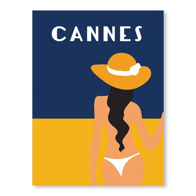 Americanflat Cannes by Alan Walsh Graphic Art