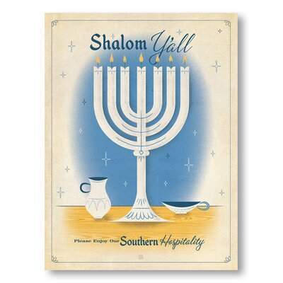 Americanflat Shalom Y'all by Anderson Design Group Vintage Advertisement