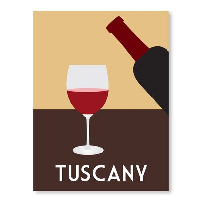 Americanflat Tuscany by Alan Walsh Vintage Advertisement