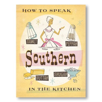 Americanflat Southern Kitchen by Anderson Design Group Vintage Advertisement Wrapped on Canvas
