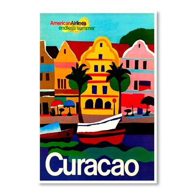 Americanflat Curacao by Chad Hyde Vintage Advertisement
