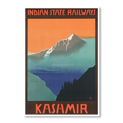 Americanflat Kashmir by Chad Hyde Graphic Art Wrapped on Canvas