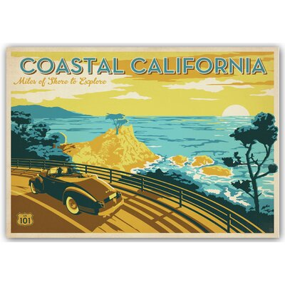Americanflat Coastal California by Anderson Design Group Vintage Advertisement
