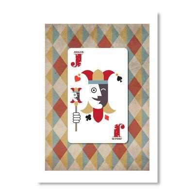 Americanflat Joker Poster by Liz Lyons Graphic Art