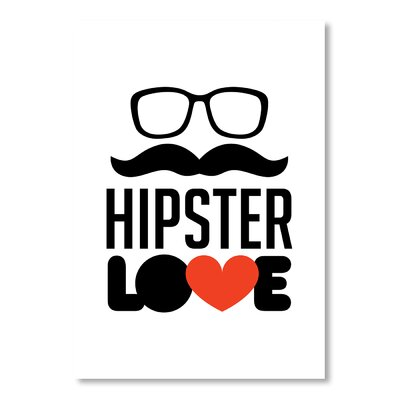 Americanflat Hipster by Patricia Pino Graphic Art
