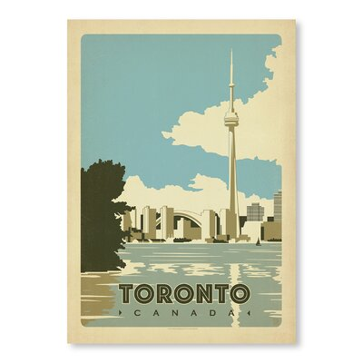 Americanflat Toronto Canada by Anderson Design Group Vintage Advertisement
