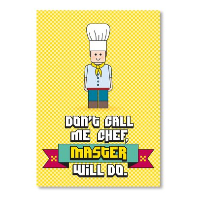 Americanflat Master Chef by Patricia Pino Vintage Advertisement Wrapped on Canvas