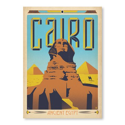 Americanflat Cairo by Anderson Design Group Vintage Advertisement in Brown