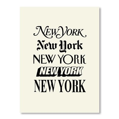 Americanflat New York by Brett Wilson Typography