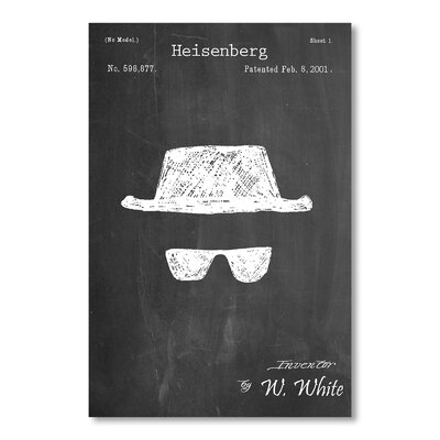 Americanflat Heisenberg by House of Borders Graphic Art