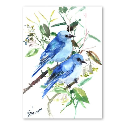 Americanflat Mountain Birds by Suren Nersisyan Art Print