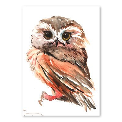 Americanflat Owl 3 by Suren Nersisyan Art Print