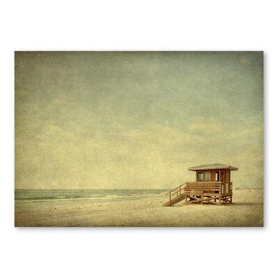 Americanflat Beach by Lina Kremsdorf Photographic Print in Beige