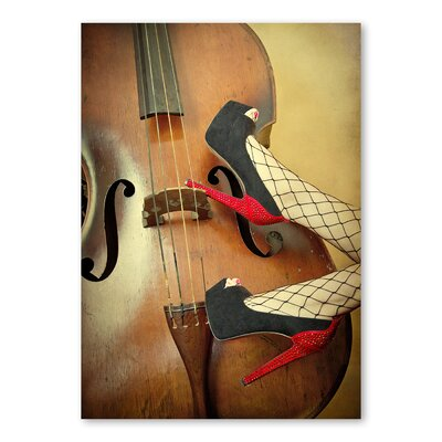 Americanflat Guitar by Lina Kremsdorf Graphic Art