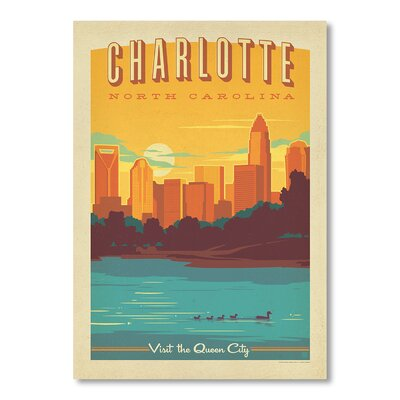 Americanflat Charlotte by Anderson Design Group Vintage Advertisement