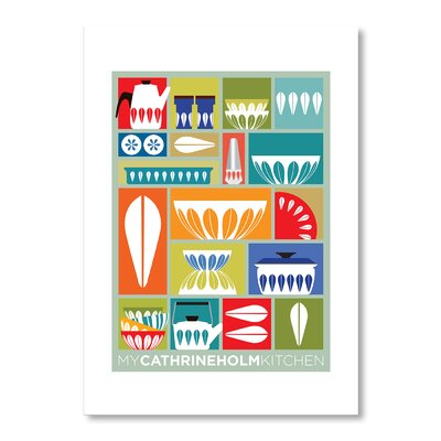 Americanflat My Kitchen by Liz Lyons Graphic Art Wrapped on Canvas