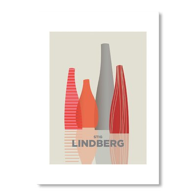 Americanflat Stig Lindberg by Liz Lyons Graphic Art