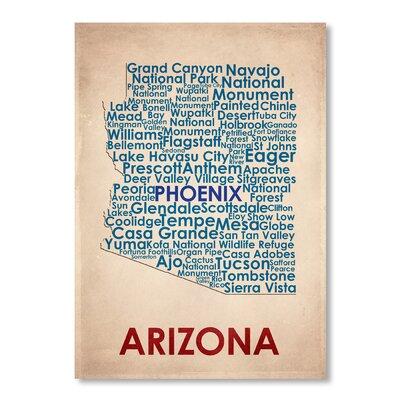 Americanflat Arizona Graphic Art