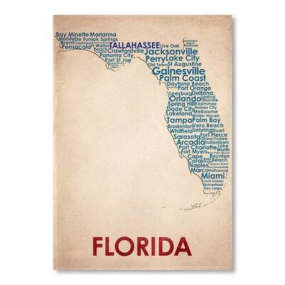 Americanflat Florida Graphic Art