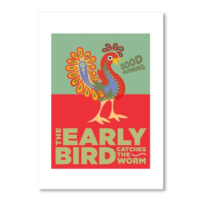Americanflat The Early Bird by Liz Lyons Graphic Art