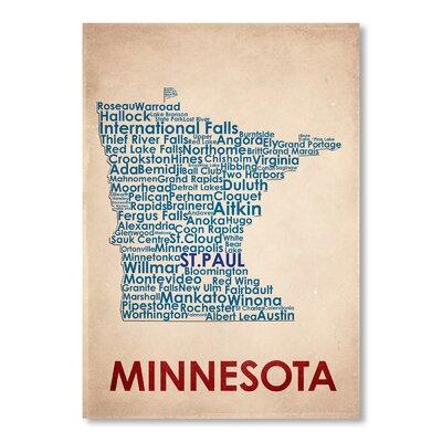 Americanflat Minnesota Typography