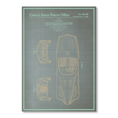 Americanflat Automobile I by Blue Print Images Graphic Art