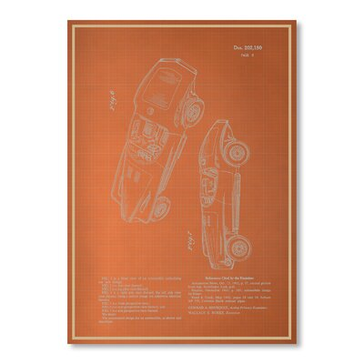 Americanflat Automobile III by Blue Print Images Graphic Art