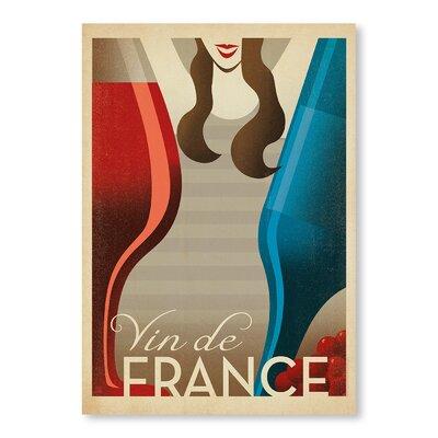 Americanflat Vin De France by Anderson Design Group Vintage Advertisement