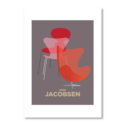 Americanflat Arne Jacobsen by Liz Lyons Graphic Art