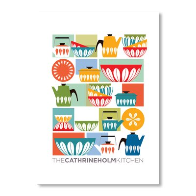 Americanflat Kitchen by Liz Lyons Graphic Art