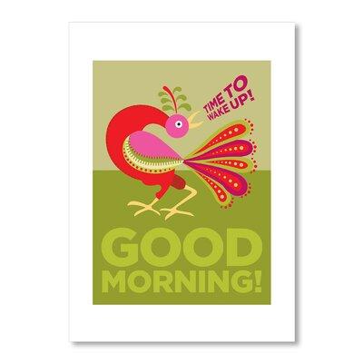 Americanflat Good Morning Cockerel by Liz Lyons Graphic Art