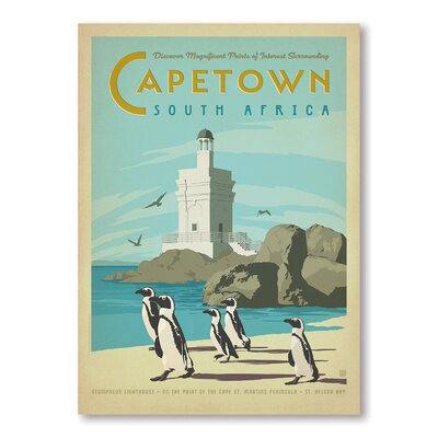 Americanflat Cape Town by Anderson Design Group Vintage Advertisement in Blue