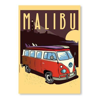 Americanflat Malibu by Diego Patino Vintage Advertisement