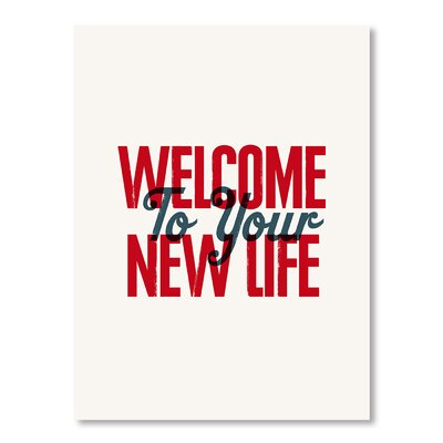 Americanflat New Life by Brett Wilson Typography in Red