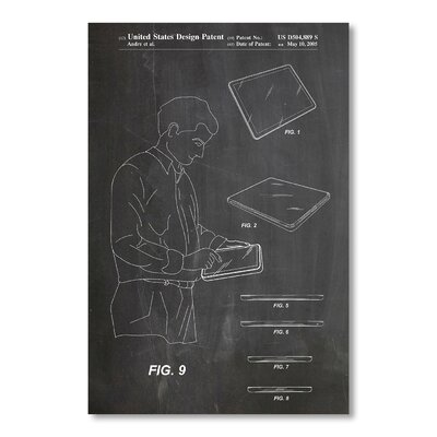 Americanflat iPad by House of Borders Graphic Art