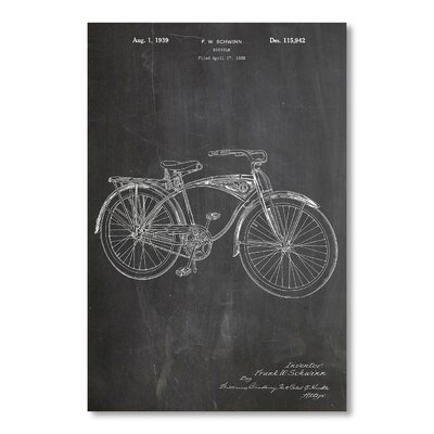 Americanflat Schwinn Bike by House of Borders Graphic Art