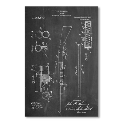 Americanflat Ithaca Shotgun by House of Borders Graphic Art