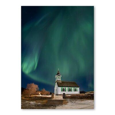 Americanflat Northern Lights by Lina Kremsdorf Graphic Art