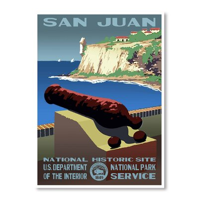 Americanflat San Juan by Chad Hyde Vintage Advertisement Wrapped on Canvas