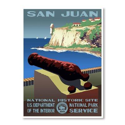 Americanflat San Juan by Puerto Rico Vintage Advertisement