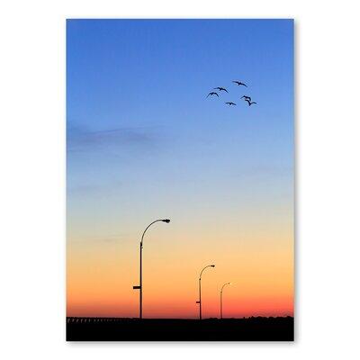 Americanflat Evening Birds by Lina Kremsdorf Photographic Print
