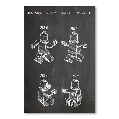 Americanflat Lego Mini II by House of Borders Graphic Art