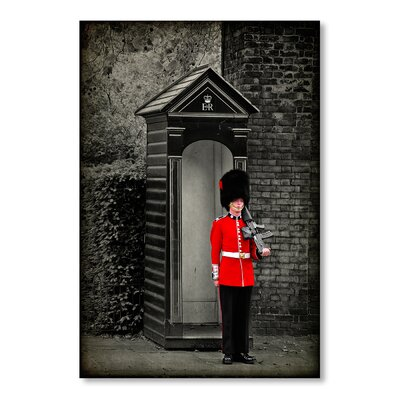 Americanflat Guard by Lina Kremsdorf Photographic Print in Grey