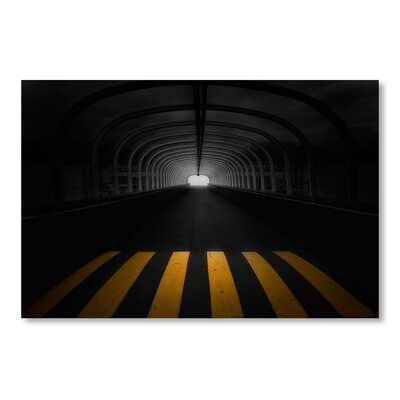Americanflat Tunnel by Lina Kremsdorf Photographic Print in Black