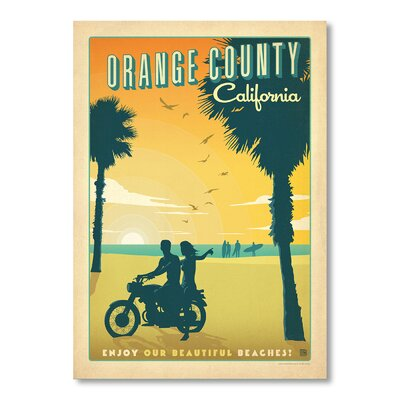 Americanflat Orange County by Anderson Design Group Vintage Advertisement