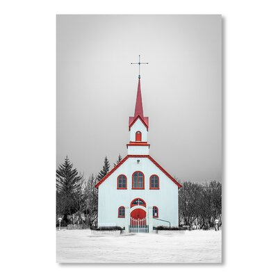 Americanflat Church by Lina Kremsdorf Photographic Print