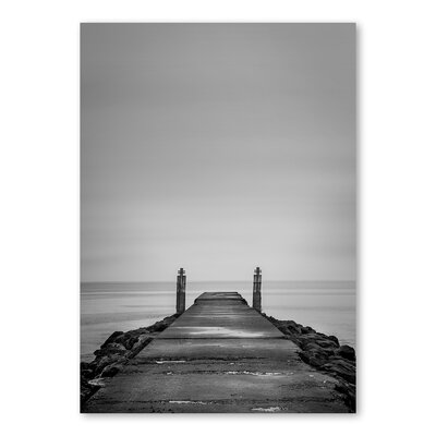 Americanflat Deck by Lina Kremsdorf Photographic Print in Grey